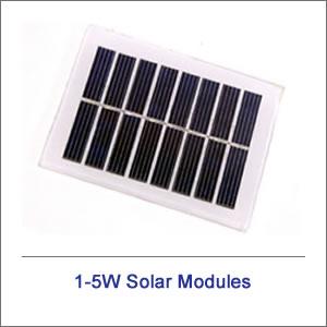 1-5 Watt Solar Modules