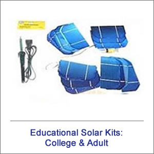 College & Adult Solar Educational Kits