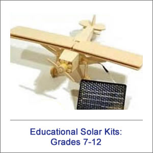 7-12 Educational Solar Kits