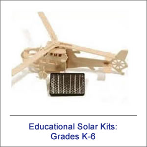 K-6 Educational Solar Kits