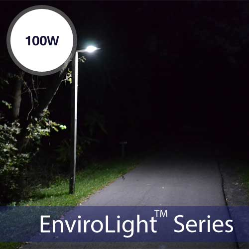EnviroLight SX 100W LED Solar Street Light