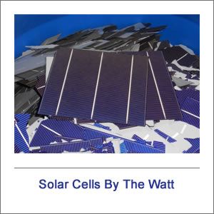 Scrap / Broken Solar Cells By The Watt