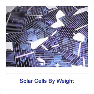 Solar Cells By Weight