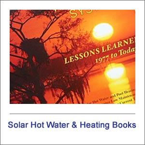 Solar Hot water and Heating Books