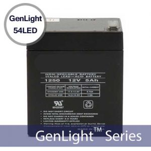 Replacement Battery for Genlight 54LED Solar Sign & Flood Lights