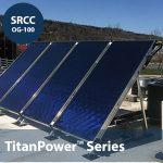 TitanPower-ALDH29 Flat Plate Solar Collector