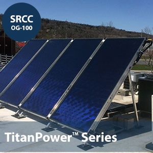 Titanpower Aldh29 Flat Plate Solar Collector Shop Solar