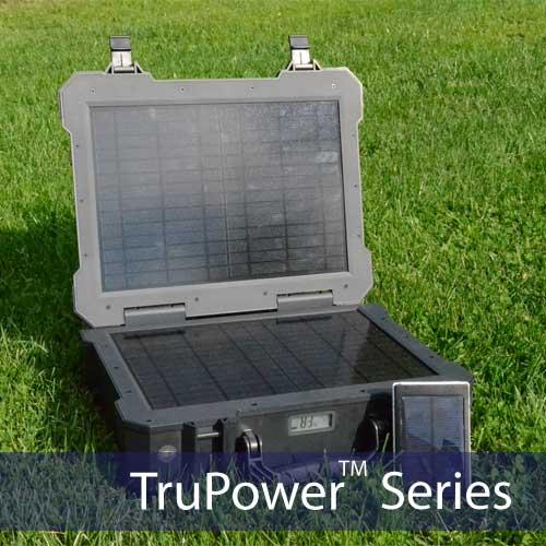 150w Portable Solar Power System