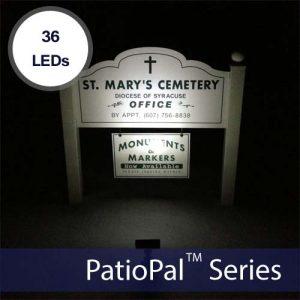 PatioPal 36LED Solar Flood & Spot Light