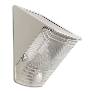 SOLAR-POWERED MOTION-ACTIVATED WEDGE LIGHT