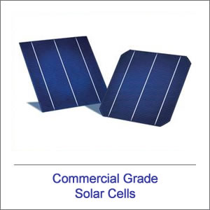 Commercial Grade Solar Cells