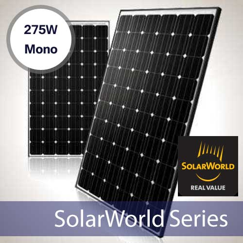 solarworld sw275 275 watt mono solar panel shop solar. Black Bedroom Furniture Sets. Home Design Ideas