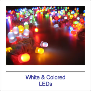 White & Colored LEDs