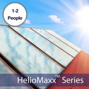 HelioMaxx Pro 1-2 Person Solar Hot Water Kit With ETEC Tank & 2 ALH20 Collectors