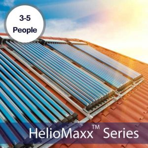 HelioMaxx Pro 3-5 Person Solar Hot Water Kit With ETEC Tank & 2 VHP20 Collectors