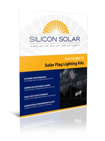 EnviroLight FX Commercial Solar Flag lights