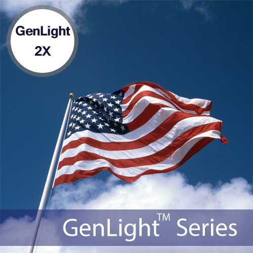 Flagpole Mounting Kit For GenLight 2X Solar Lights