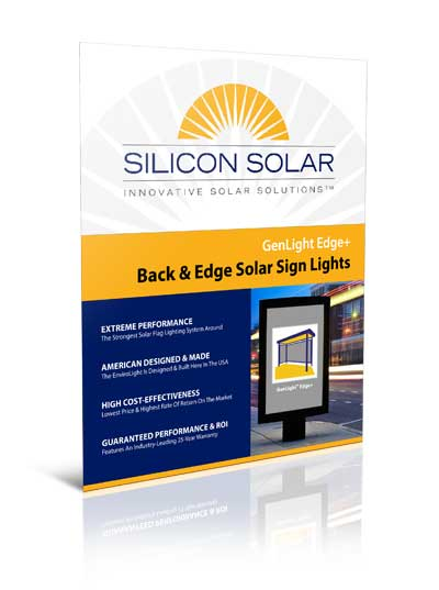 GenLight Edge+ Commercial Internal Solar Sign Lights