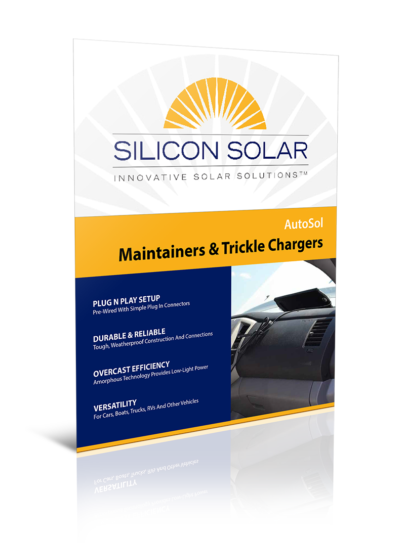 AutoSolar Thinfilm Solar Car Chargers