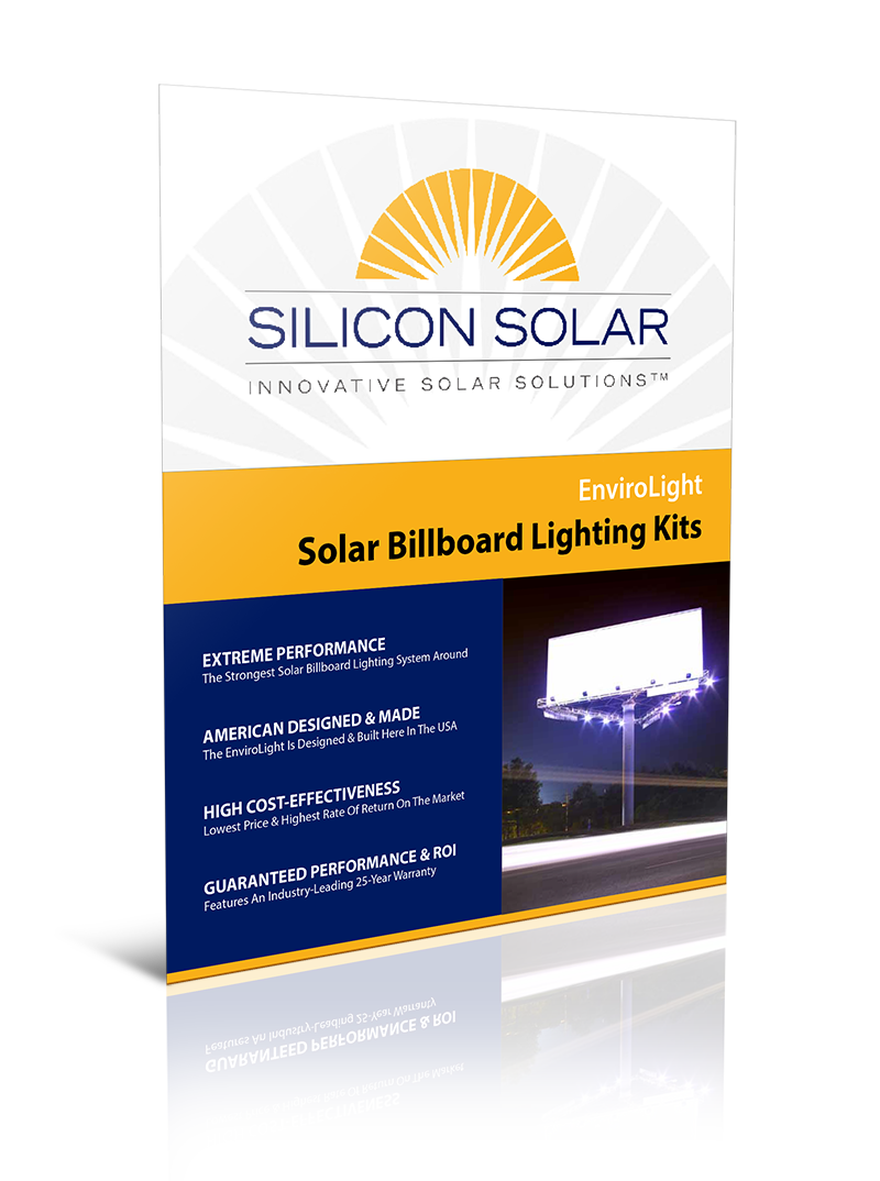 EnviroLight Solar Billboard Lights
