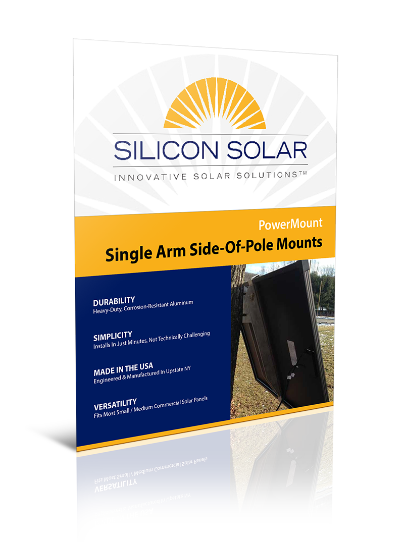 PowerMount Side of Pole Solar Panel Mounts