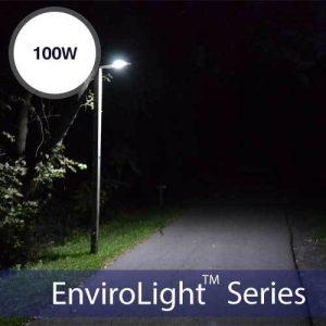 EnviroLight SX 100W LED Solar Street Light