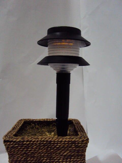Innovision Series Amber Solar Garden Light Silicon Solar