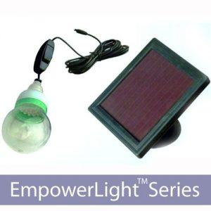 EmpowerLight 20 LED Solar Home Lighting Kit
