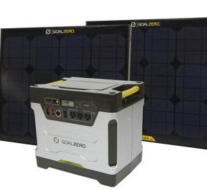 Portable 1250W Solar Power Generator Kit