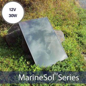 12V 30W Automotive and Marine Solar Panel