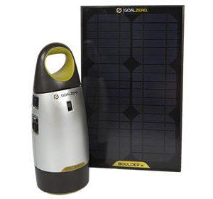 150W Portable Solar Power System Charging Kit
