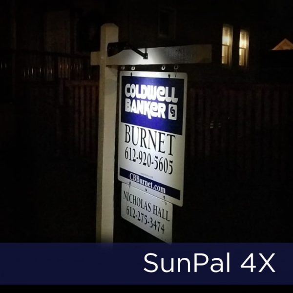 SunPal 4X Solar Sign Light