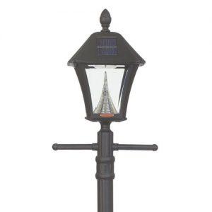 Baytown Solar Lamp Post with Anchor
