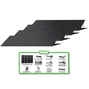 72W Solar Energy Kit