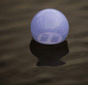 Aqua Globe Solar Light