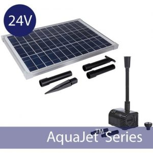 12-24 V Medium Output Solar Water Pump Kit