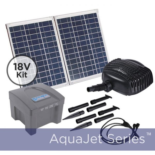 24v Solar Pump Kit With Battery Backup 800 Gph Max Flow Rate