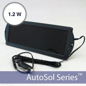 Solar Car Battery Maintainer 12V