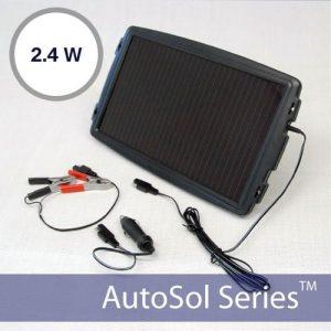 Solar Car Battery Tender 12V 2.4W