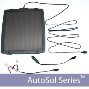5.5 W Solar Battery Trickle Charger 12V