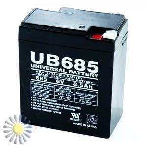 Sealed Lead Acid Batteries 6V 8.5AH