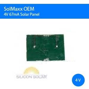 4V 67mA OEM Solar Panel