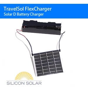 Flexible Solar Battery Charger SolLite-2D