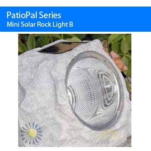 Mini Solar Rock Light B