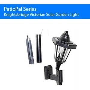 Knightsbridge Victorian Solar Garden Lantern
