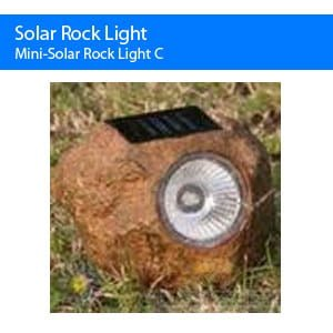 Mini Solar Rock Light C