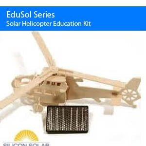 Helicopter Solar Energy Kits