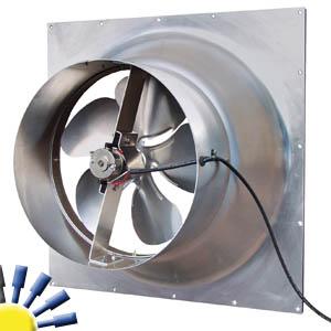 Solar Gable Fan