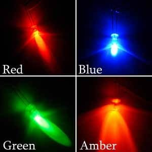 Colored Ultra Bright LEDs