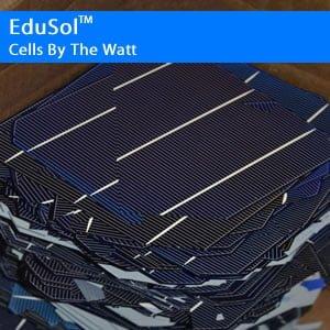 Solar Cells by the Watt